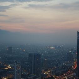 View of Bangkok, 62 floors above
