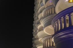 Lebua hotel balconies