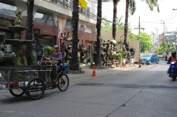Back streets of Bangkok