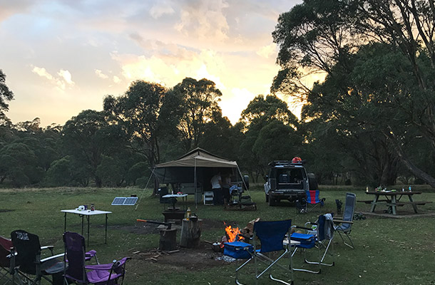 sundown-camping